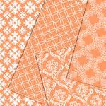 Digital paper peach scrapbooking pa..
